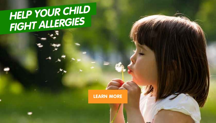 HELP YOUR CHILD FIGHT ALLERGIES