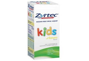 ZYRTEC® KIDS LIQUID